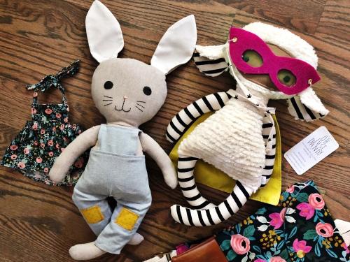stuffed animal, toddler backpack, nashville, handmade, maker