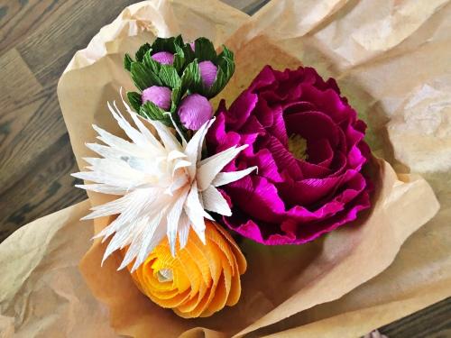 paper flower, flower, handmade, maker